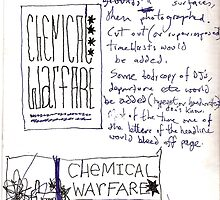 Chemical Warfare Doodle No.2 by santakaoss
