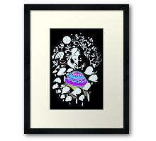 alice in fungi land Framed Print