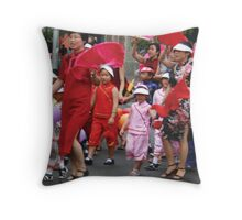 Chinese New Year 2007 - Road Crossing Throw Pillow