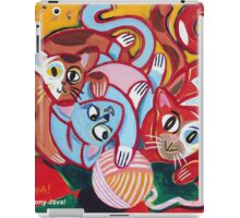 'Kitties at Play' iPad Case/Skin