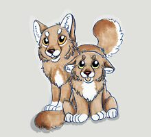 Wolf siblings  Unisex T-Shirt
