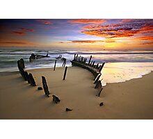 Sunrise Dicky Beach Photographic Print