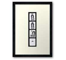 Photo booth. Framed Print
