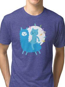 Alpaca Rider Tri-blend T-Shirt