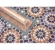 Moroccan zellij Photographic Print