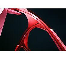 Alexander Calder's sculpture, La Defense, Paris Photographic Print