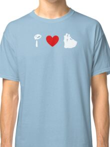 I Heart Happily Ever After (Classic Logo) (Inverted) Classic T-Shirt
