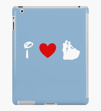 I Heart Happily Ever After (Classic Logo) (Inverted) iPad Case/Skin