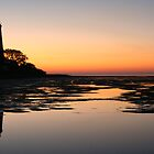 Sunrise St. Marks Lighthouse  by RebeccaBlackman