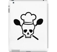 Cook chef skull iPad Case/Skin