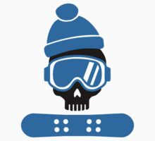 Snowboard skull Kids Clothes