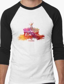 Vienna skyline Men's Baseball ¾ T-Shirt