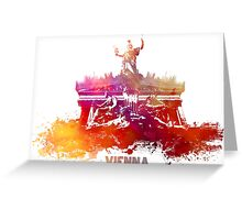 Vienna skyline Greeting Card