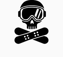 Snowboard skull goggles Unisex T-Shirt