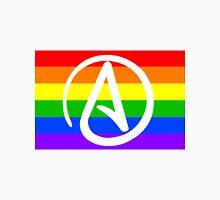 Rainbow Atheist Flag Unisex T-Shirt
