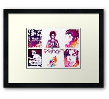 Prince Rogers Nelson - poster Framed Print