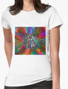 Explosive Hippy Womens Fitted T-Shirt