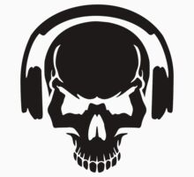 Skull DJ headphones Kids Clothes