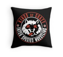 Kings of Crazy Throw Pillow