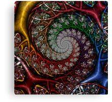 Technicolor Jungle I Canvas Print