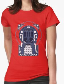 Nouveau Who Womens Fitted T-Shirt