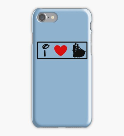 I Heart Happily Ever After (Classic Logo) iPhone Case/Skin