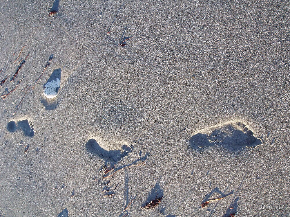Feet in the sand by DanniiD