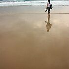 Barefoot surf solace by Stephen Denham