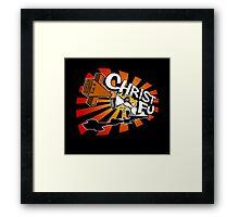 Christ Fu - Love Thy Unconscious Enemy Framed Print