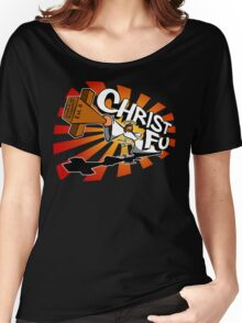 Christ Fu - Love Thy Unconscious Enemy Women's Relaxed Fit T-Shirt