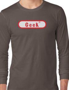 Video Game Geek Long Sleeve T-Shirt
