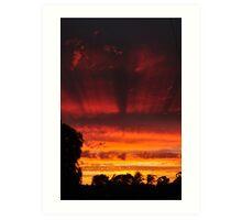 Tonight's Sunset Art Print