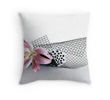 Ikebana-102 Throw Pillow