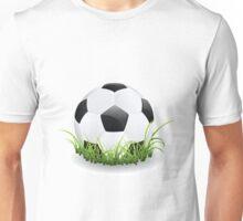 Soccer Ball with Grass Unisex T-Shirt