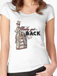 Baby Got Back Women's Fitted Scoop T-Shirt