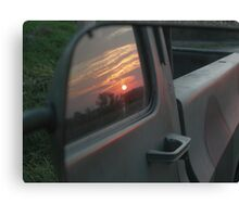 Reflection on Sunset Canvas Print