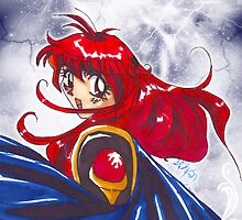 Lina Inverse by enelyawolfwood