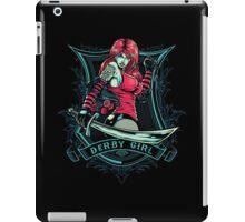 Derby Girl iPad Case/Skin