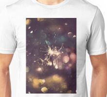 Sparkler and Colorful Bokeh 5 Unisex T-Shirt