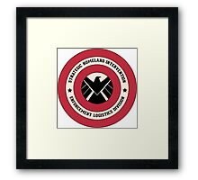 Agents of S.H.I.E.L.D Framed Print