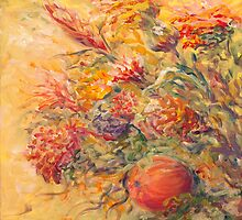 French Country Flowers II by Nadine Rippelmeyer