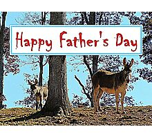 Happy Father's Day Photographic Print