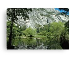 Spring Reflections, Mirror Lake Canvas Print