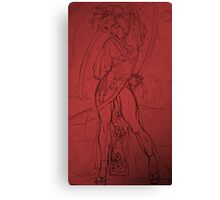RED ASSASSIN Canvas Print