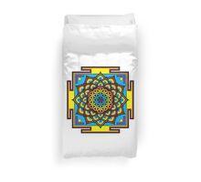 Flower of Life Psychedelic Mandala Duvet Cover