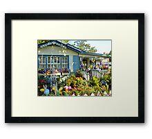 Easter Cottage Framed Print