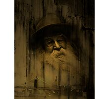 """What thoughts I have of you tonight, Walt Whitman..."" Photographic Print"