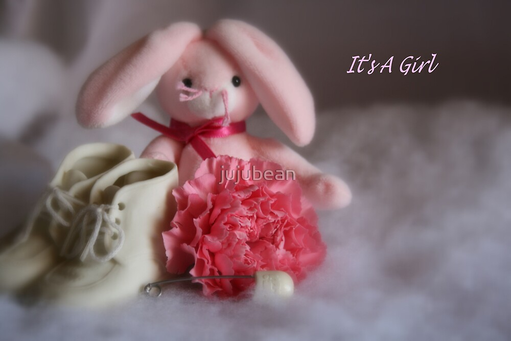 It's A Girl by jujubean