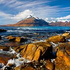 The Cuillins from Elgol, Isle of Skye, Scotland. by photosecosse /barbara jones