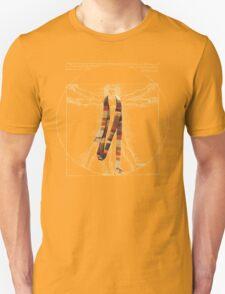 Da Vinci Meets the Doctor (Dark colors) T-Shirt